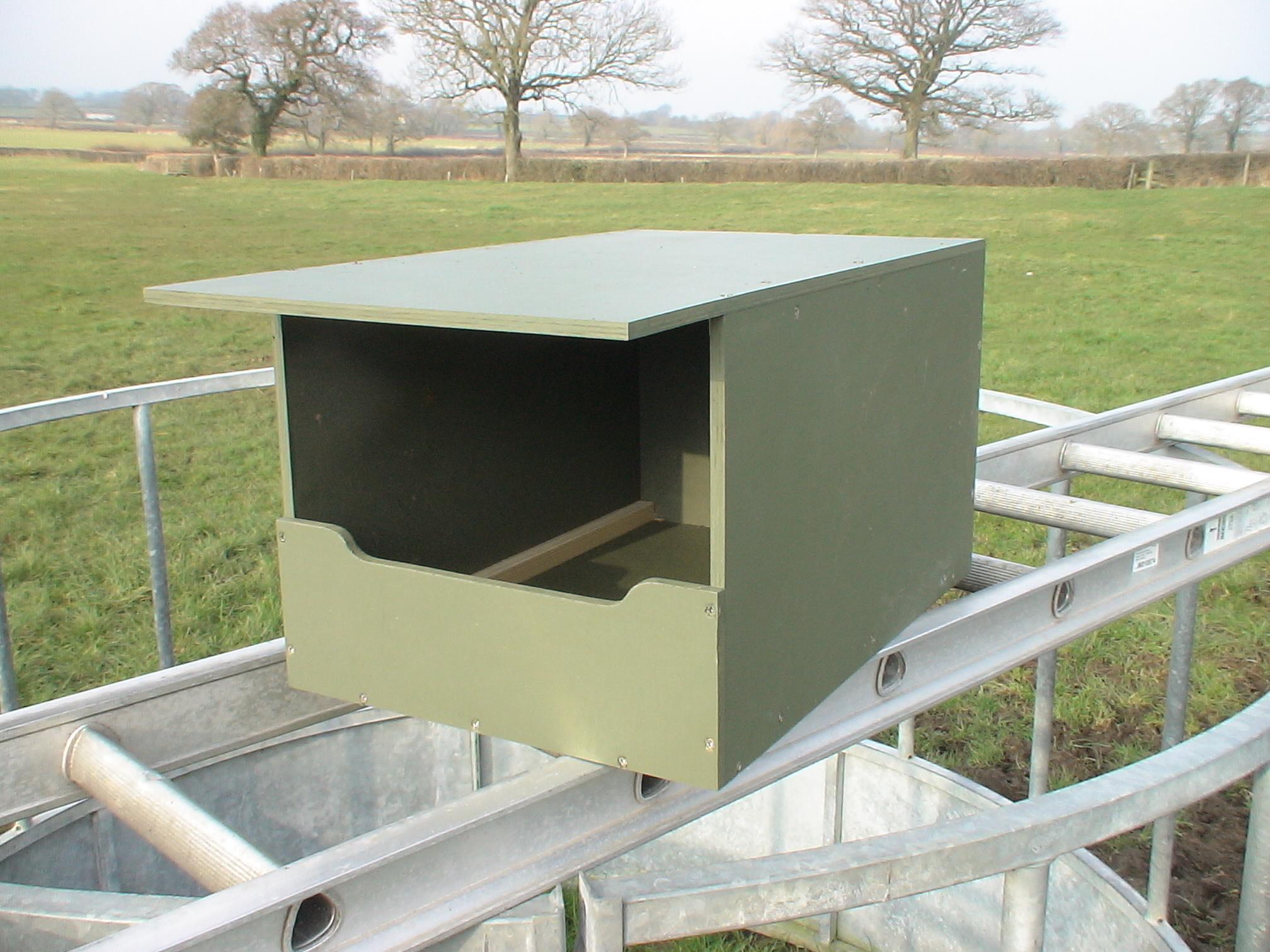 Kestrel box prior to   installation